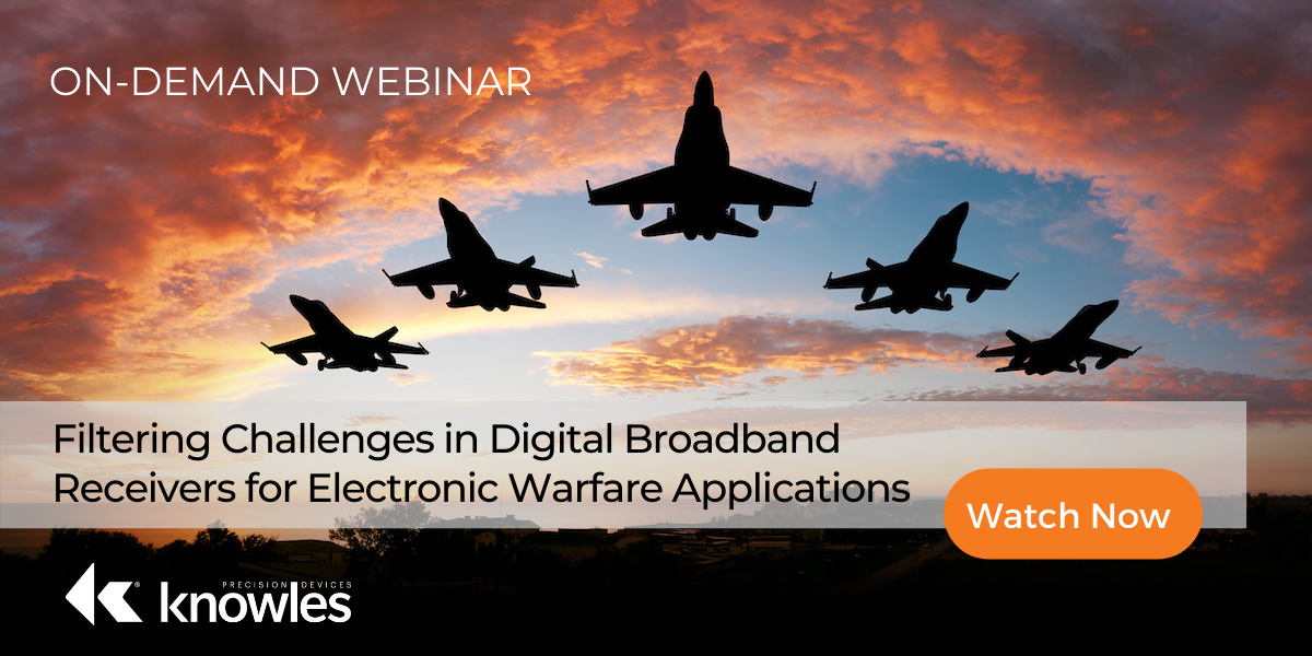 Electronic Warfare Webinar - Featured Image