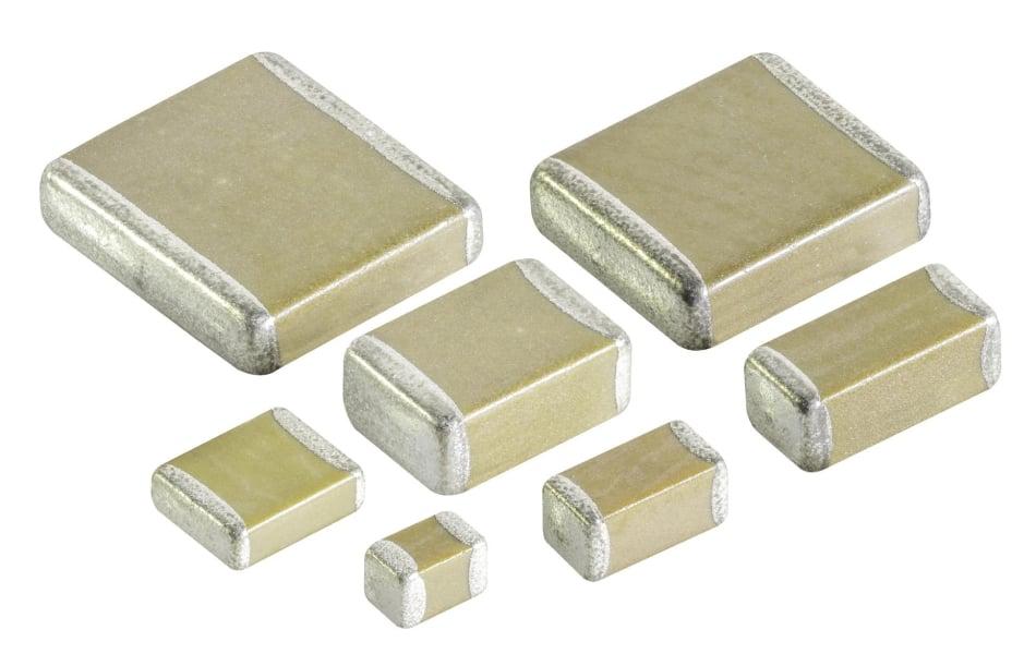 High Q Low ESR Capacitors